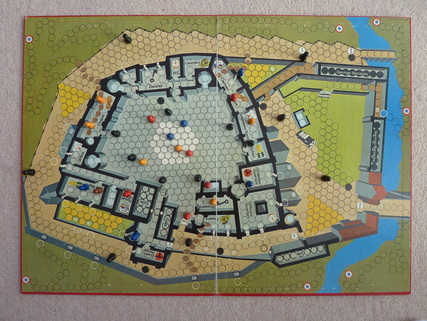 Escape from Colditz board