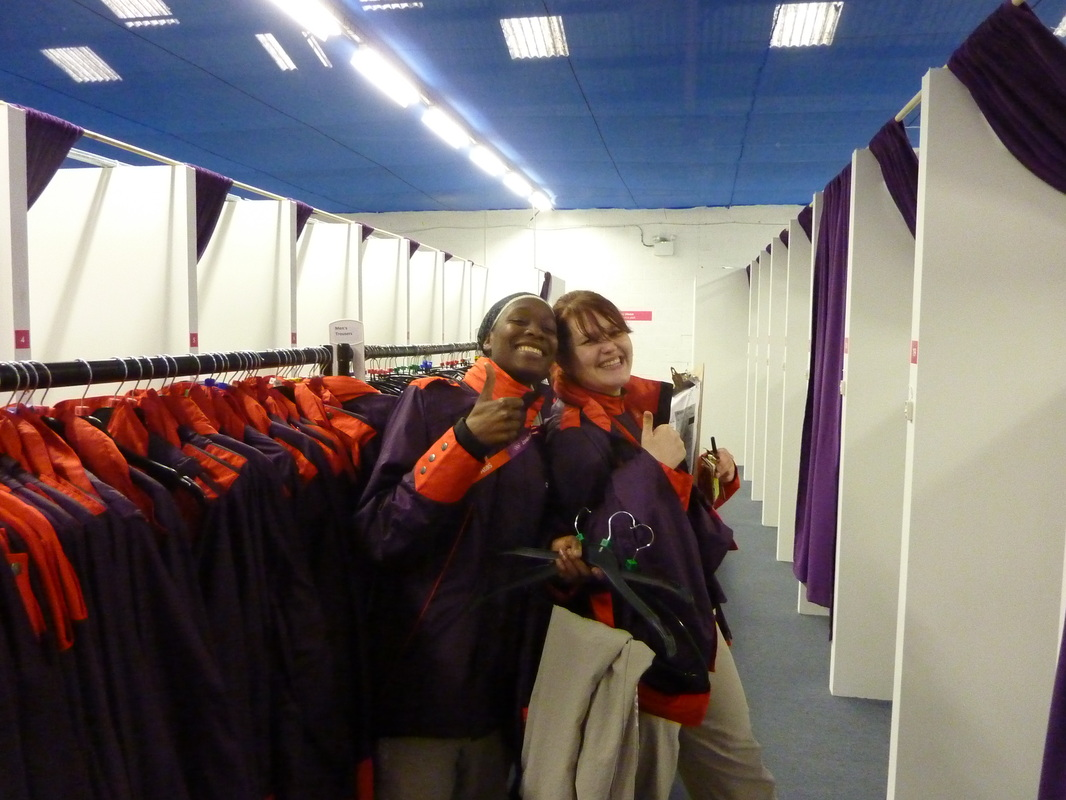 London 2012. Uniform fitting