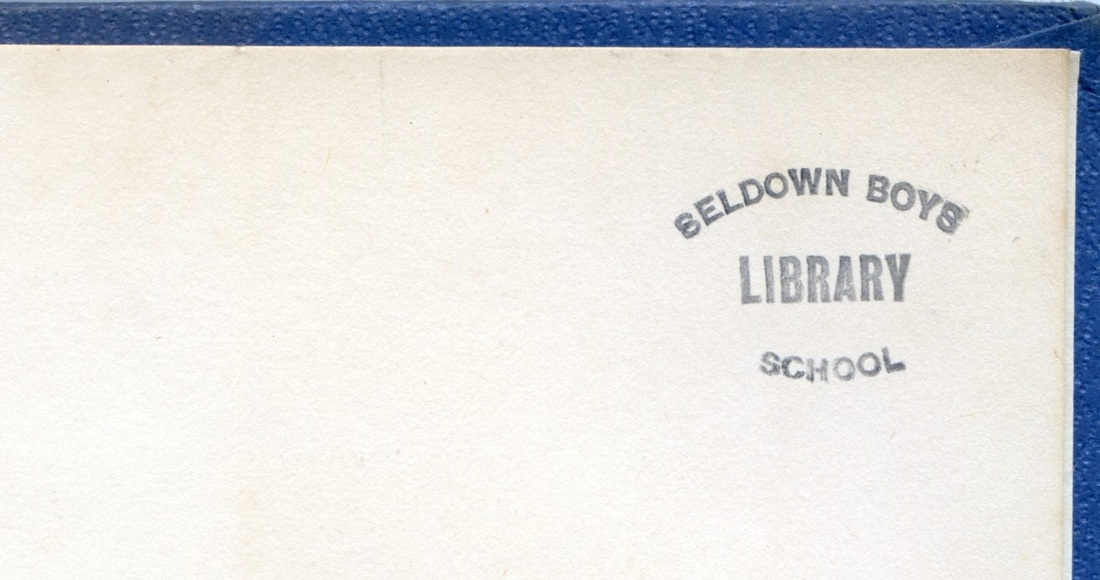 Seldown Library Stamp